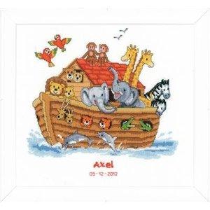 Vervaco Borduurpakket Ark van Noach
