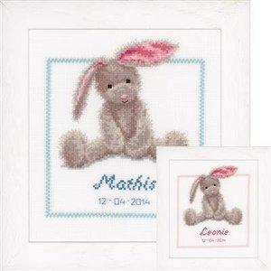 Vervaco Borduurpakket Schattig konijn