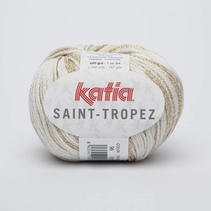 Katia Saint Tropez Ecru-Goud (96)