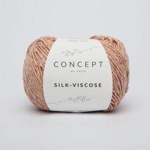 Katia Silk-Viscose 53 Oranje-Koraal