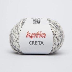 Katia Creta 70 Wit / Blauwgrijs op = op