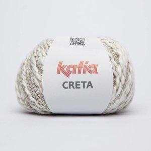Katia Creta 69 Wit / Medium Beige op = op