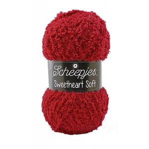 Scheepjes Sweetheart Soft 16 - Donkerrood