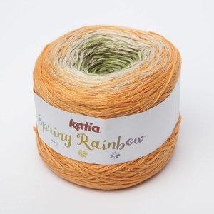 Katia Spring Rainbow oranje/beige/groen (56) op=op