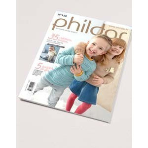 Phildar Kinder catalogus 133 herfst/winter 2016/2017