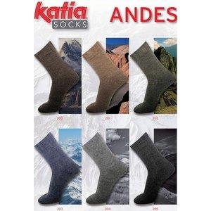 Katia Andes Socks bruin (200)