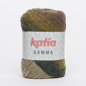 Katia Gamma Groen/Oker/Reebruin (57) op = op