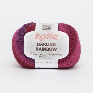 Katia Darling Rainbow Lila-Roze-Rood (304) op=op