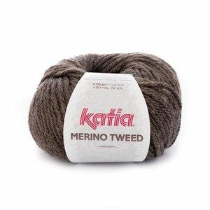 Katia Merino Tweed bruin (303)