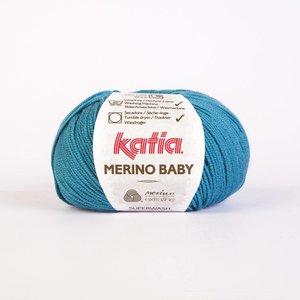 Katia Merino Baby groenblauw (64) op = op