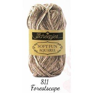 Scheepjes Softfun Aquarel 811 - Forestscape