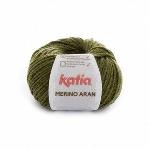 Katia Merino Aran 70 - groen
