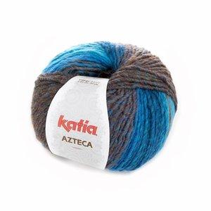 Katia Azteca blauw-bruin (7845)