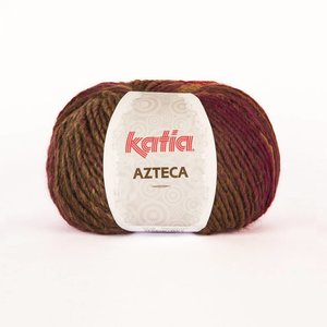 Katia Azteca paars-wijnrood-bruin-beige (7838)