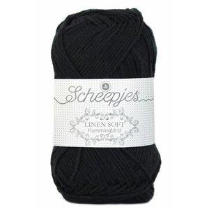 Scheepjes Linen Soft zwart (632)