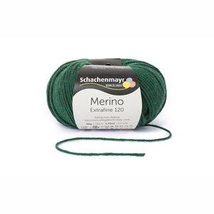 Schachenmayr Merino extrafine 120 bosgroen (172)