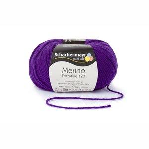 Schachenmayr Merino extrafine 120 clematis (148)