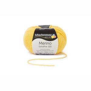 Schachenmayr Merino extrafine 120 geel (120)