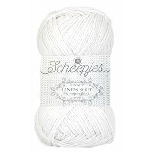 Scheepjes Linen Soft 630 - wit