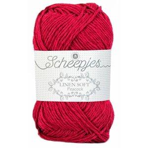 Scheepjes Linen Soft 604 - rood