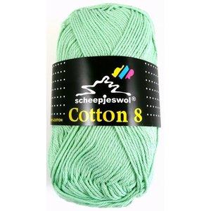 Scheepjes Cotton 8 zacht groen (664)