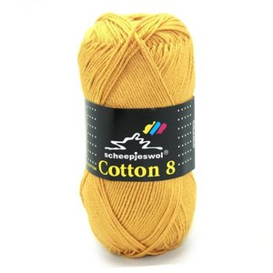 Scheepjes Cotton 8 oker (722)