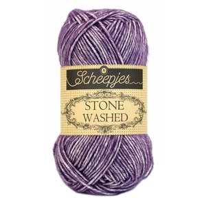 Scheepjes Stone Washed Deep amethyst (811)