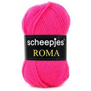 Scheepjes Roma Neon roze (1665)