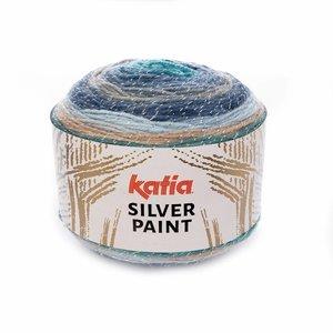 Katia Silver Paint Blauw/Grijs/Reebruin (106)