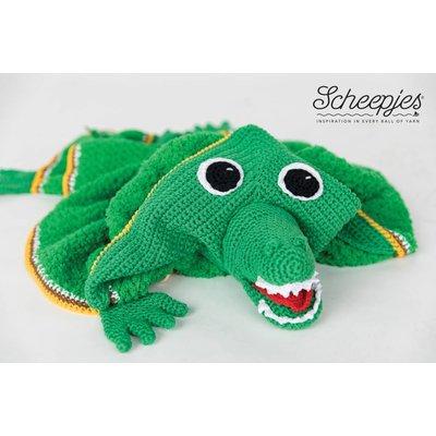 Scheepjes Garenpakket Dierencape Krokodil