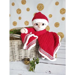 Garenpakket Knuffeldeken Kerstman