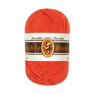 Durable Breikatoen 253 - donker oranje