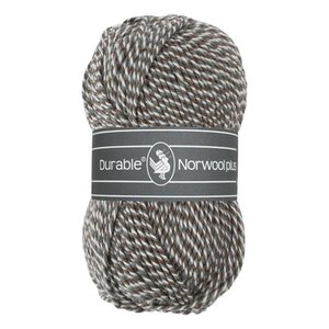 Durable Norwool Plus bruin/grijs/wit (M04932)