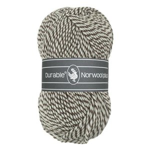 Durable Norwool Plus bruin/wit (M932)
