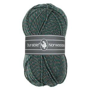 Durable Norwool Plus M433 - groen/bruin