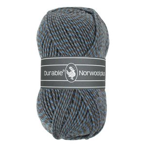 Durable Norwool Plus blauw/beige/grijs (M235)
