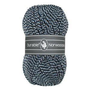 Durable Norwool Plus M00235 - zwart/blauw/wit