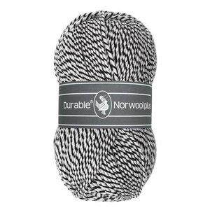 Durable Norwool Plus M000 - zwart/wit