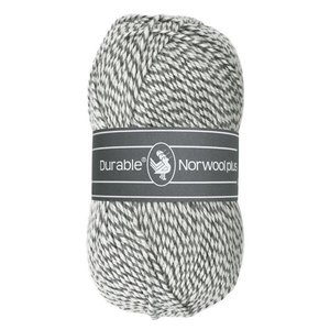 Durable Norwool Plus wit/grijs (M004)
