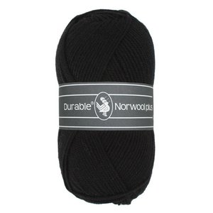 Durable Norwool Plus zwart (000)