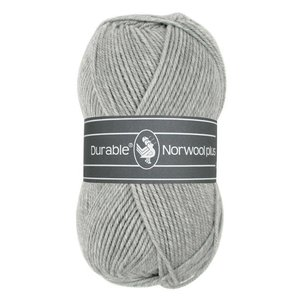 Durable Norwool Plus lichtgrijs (004)
