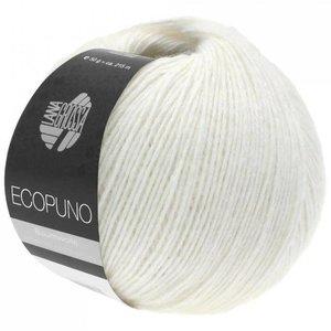 Lana Grossa Ecopuno 026 - Wit