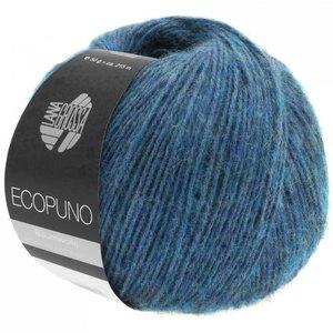 Lana Grossa Ecopuno 011 - Saffier Blauw