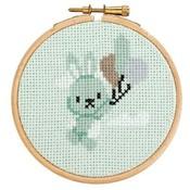 DenDennis Borduurpakket met ring Little Woodland Adventures  Benny Bunny (13)