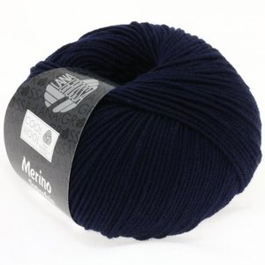 Lana Grossa Cool Wool Nachtblauw (414)