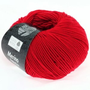 Lana Grossa Cool Wool Briljantrood (417)