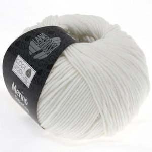 Lana Grossa Cool Wool 431 - Wit