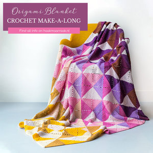 Scheepjes Origami Blanket Spring in Colour Crafter