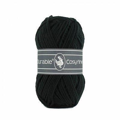 Durable 10 x Durable Cosy Fine Black (325)