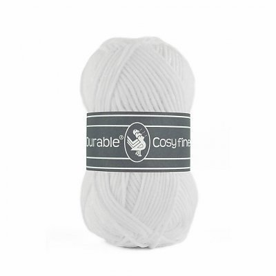 Durable 10 x Durable Cosy Fine White (310)
